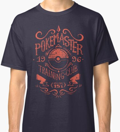 Pokemaster Training Club Classic T-Shirt