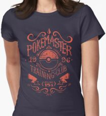 Pokemaster Training Club Women's Fitted T-Shirt