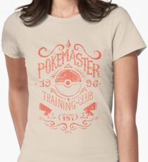 Pokemaster Training Club Women's Fitted T-Shirt