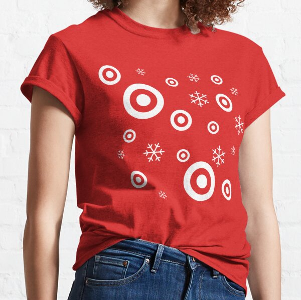 Target Snowflakes Classic T-Shirt