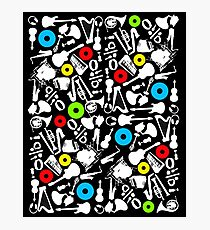 abstract music  Photographic Print