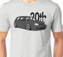 Black 20th GTI Graphic Unisex T-Shirt