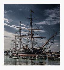 Portsmouth Docks  Photographic Print