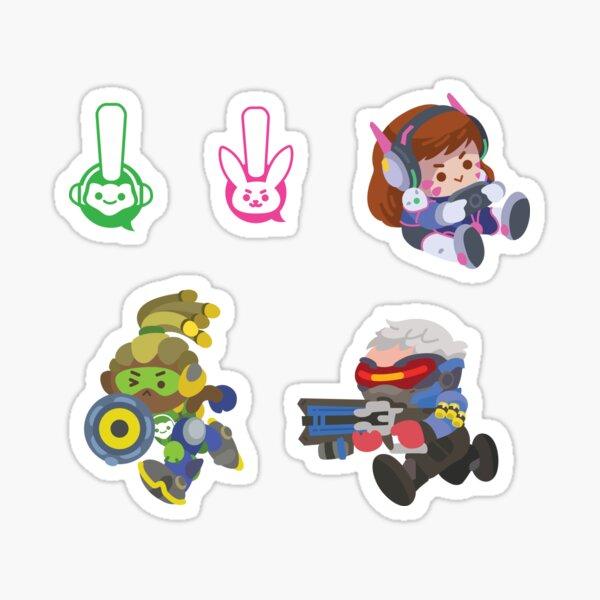 Overwatch Sticker Pack 1 Sticker