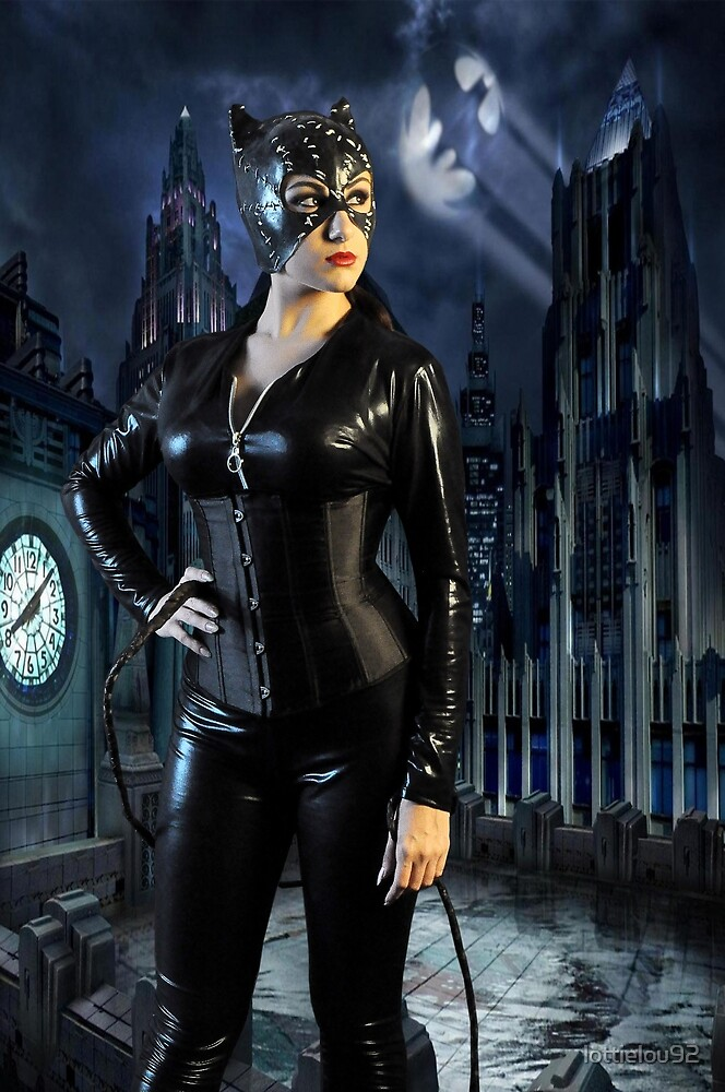 Cat Woman Cosplayer by lottielou92