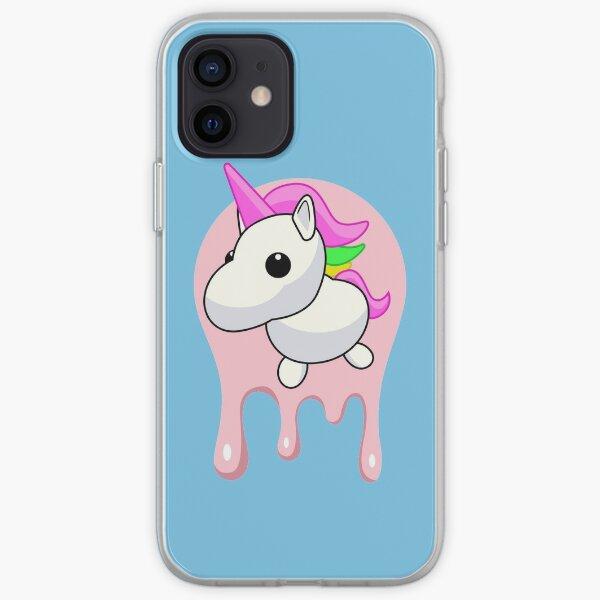 Unicornio derritiéndose Funda blanda para iPhone