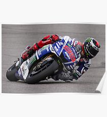 Jorge Lorenzo at Circuit Of The Americas 2014 Poster