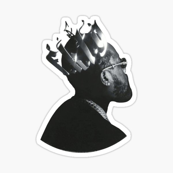 From King To A GOD Sticker