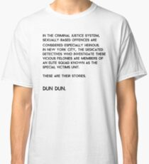 Law & Order: Special Victims Unit Classic T-Shirt