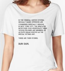 Law & Order: Special Victims Unit Women's Relaxed Fit T-Shirt