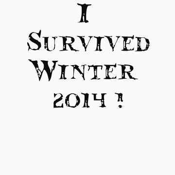 I survived winter 2014 by VampicaX