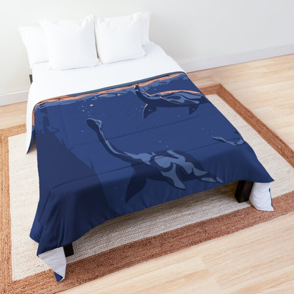 Frightening the ducks Comforter