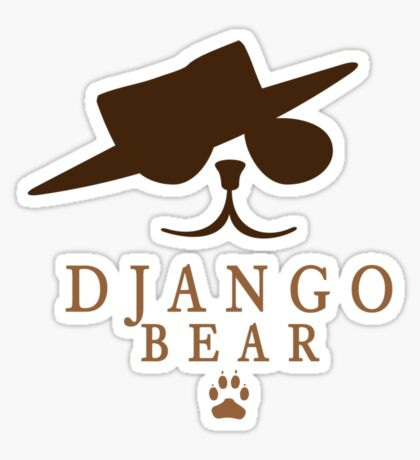 Django Bear VRS2 Sticker
