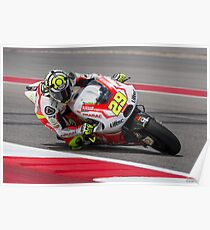 Andrea Iannone at Circuit Of The Americas 2014 Poster
