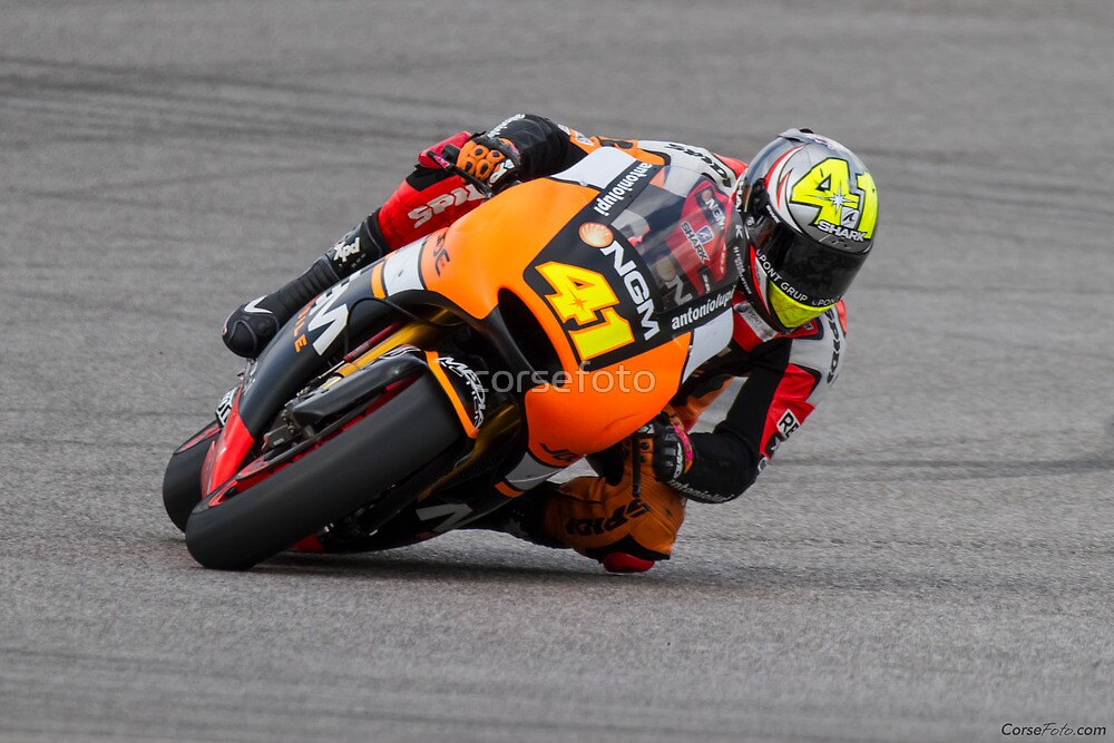 Aleix Espargaro at Circuit Of The Americas 2014 by corsefoto