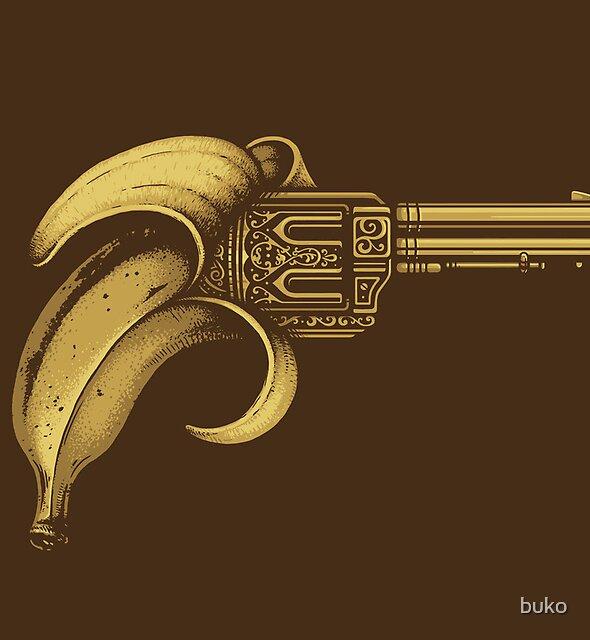 Banana Gun by buko