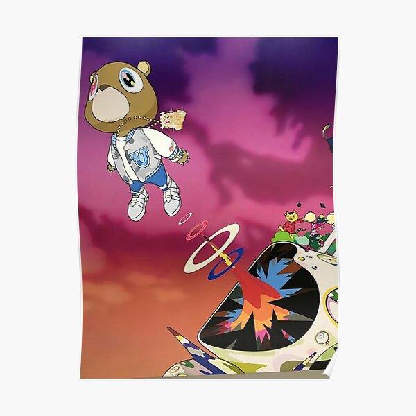 Kanye Graduation Poster