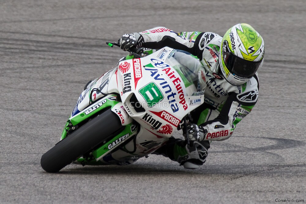 Hector Barbera at Circuit Of The Americas 2014 by corsefoto