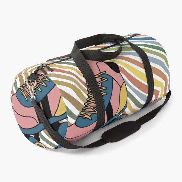 retro roller skate disco Duffle Bag