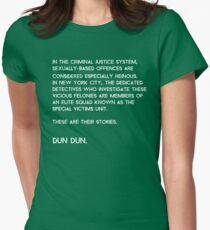 Law & Order: Special Victims Unit Womens Fitted T-Shirt