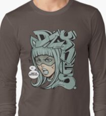 Dzynes must be destroyed! (aqua) Long Sleeve T-Shirt