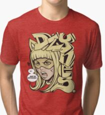 Dzynes must be destroyed! (yellow) Tri-blend T-Shirt