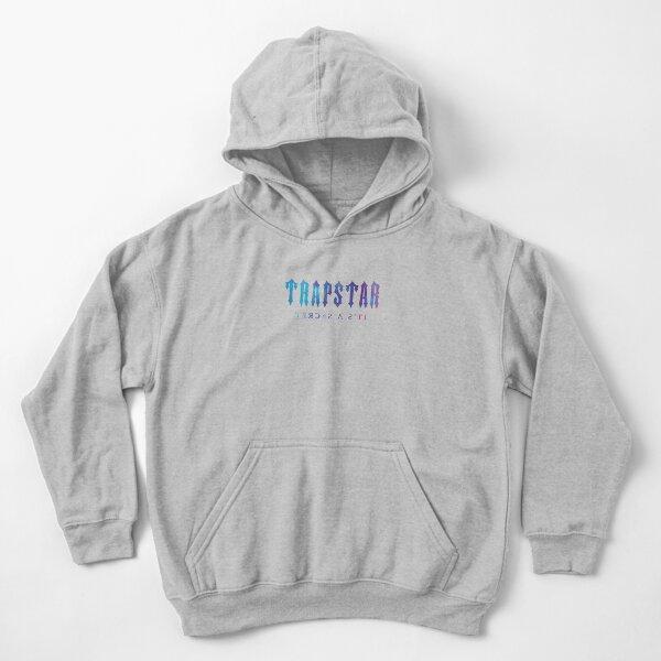 Trapstar Logo Design Kids Pullover Hoodie