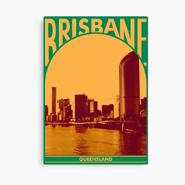 Brisbane Queesland Canvas Print