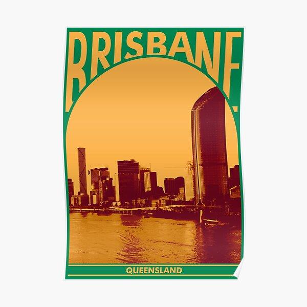 Brisbane Queesland Poster