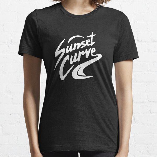 Sonnenuntergangskurvenlogo Essential T-Shirt