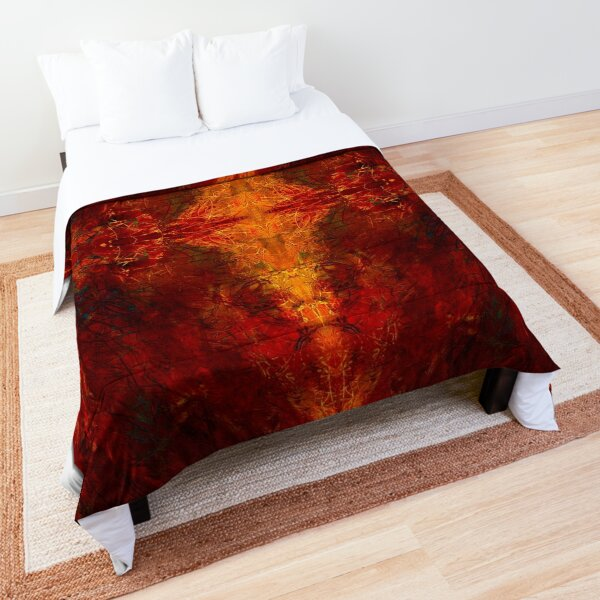 fire eye our four - by sdthoart Comforter