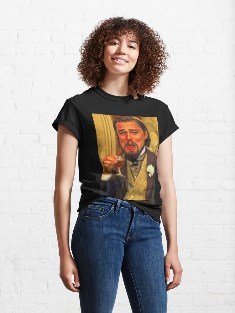 Alternate view of Funny leonardo dicaprio Classic T-Shirt