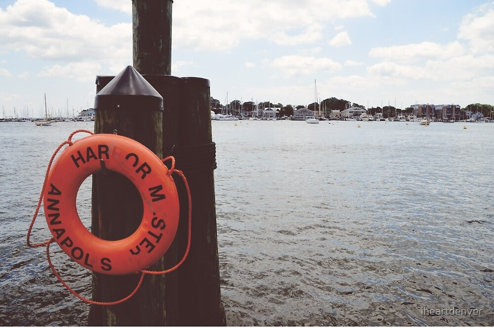 Annapolis Harbor by iheartdenver