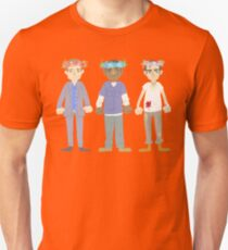 poorly matched friends (flowercrown version) T-Shirt