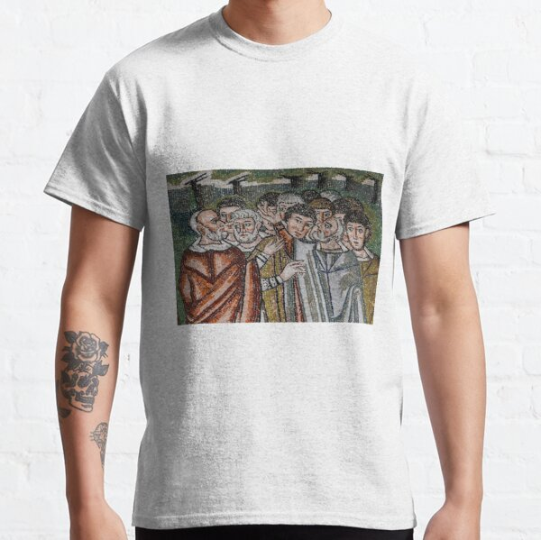 Moses' brother Aaron at foot of Mount Sinai Classic T-Shirt