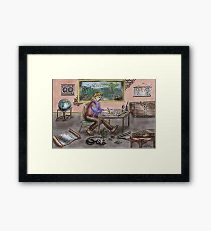 The Cartographer Framed Print