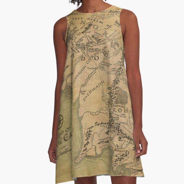 Carte Robe trapèze