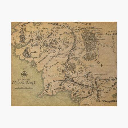 Mapa Lámina rígida