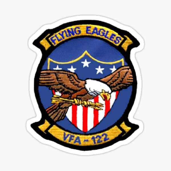VFA-122 Flying Eagles Patch Sticker