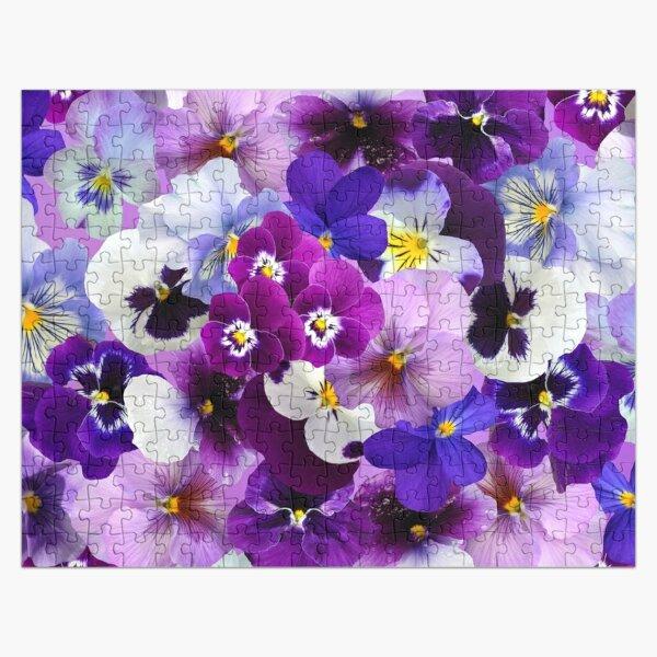 Flowering Pansies  Jigsaw Puzzle