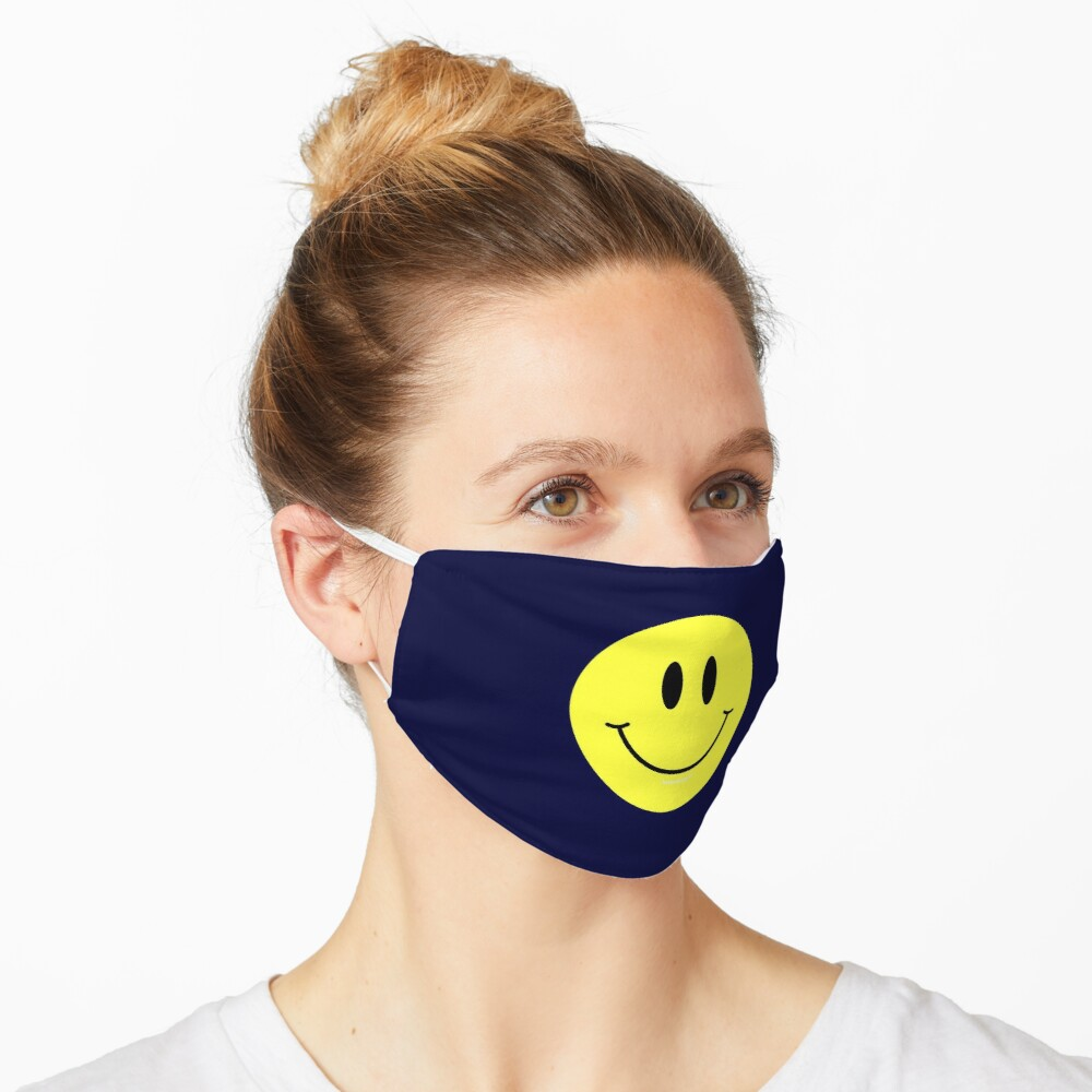 Happy Smiley Face Mask