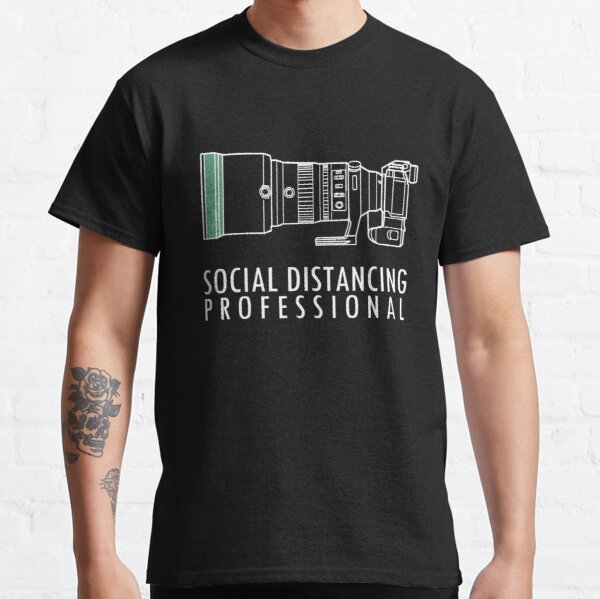 Social distancing with Fujifilm XH1 and 200mm f2 lens Classic T-Shirt