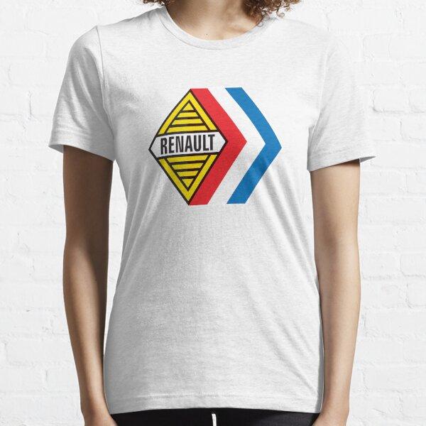 Emblème Renault Sport rétro - Formule Renault, Gordini - Grands caractères T-shirt essentiel