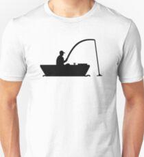 Angler Fisher boat Unisex T-Shirt