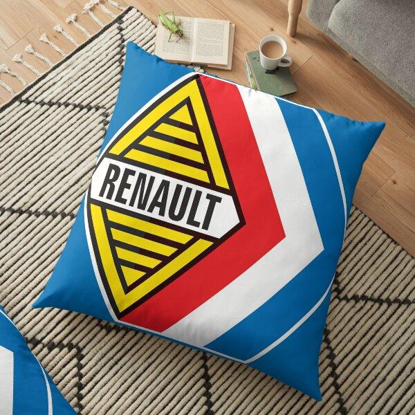 Emblème Renault Sport - Formule Renault, Gordini - Imprimé T-shirt petit format Coussin de sol
