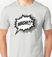 COMIC ARGH! Speech Bubble, Comic Book Explosion, Cartoon T-Shirt