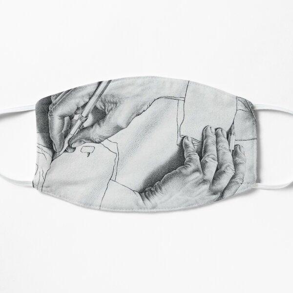 MC Escher Drawing Hands 1948 Artwork for Posters Prints Tshirts Men Women Kids Mask