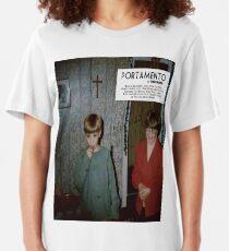 Portamento album cover Slim Fit T-Shirt