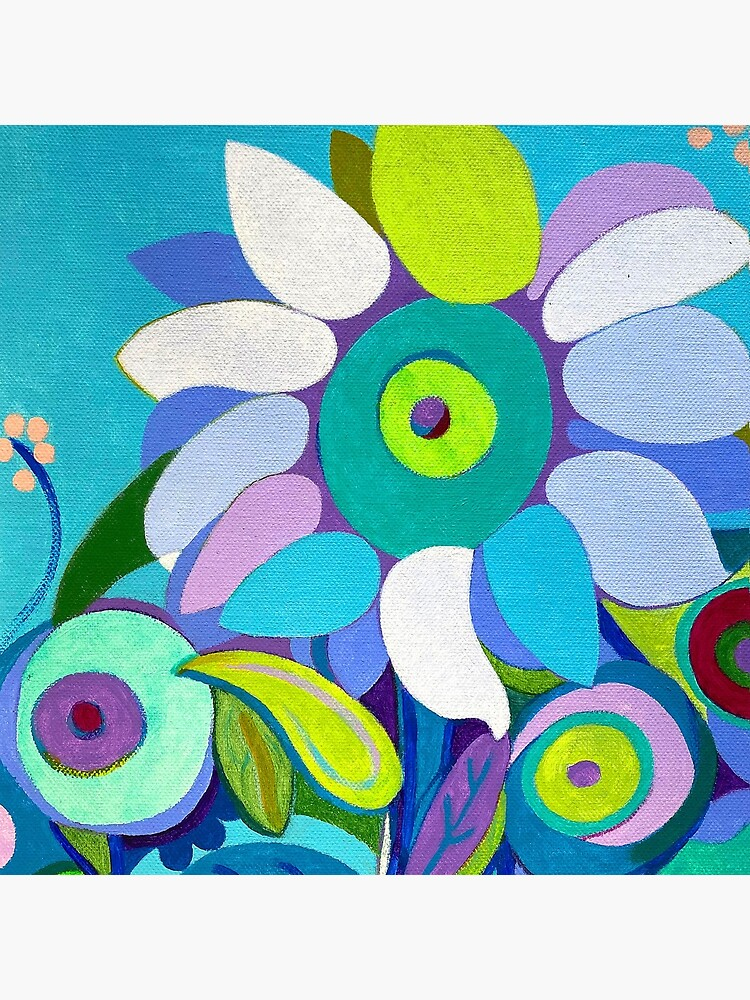 Blue sunflower by MuloaniArt
