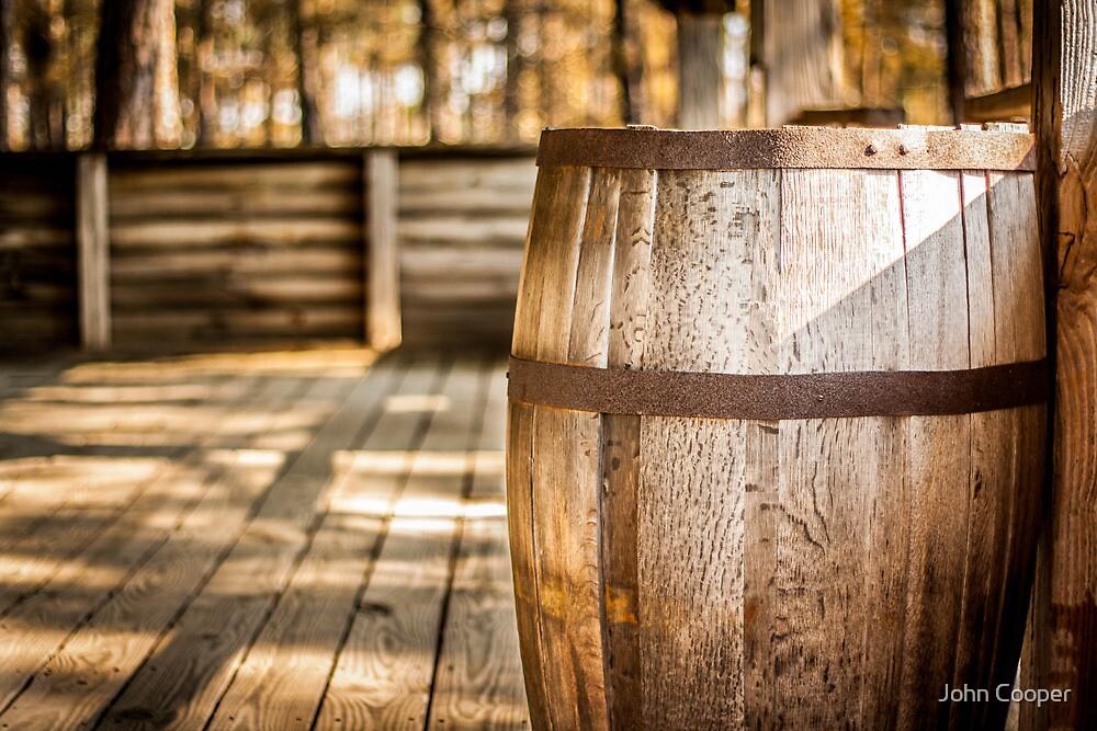 Wooden Barrel by John Cooper